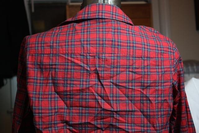 J.Crew shirt back